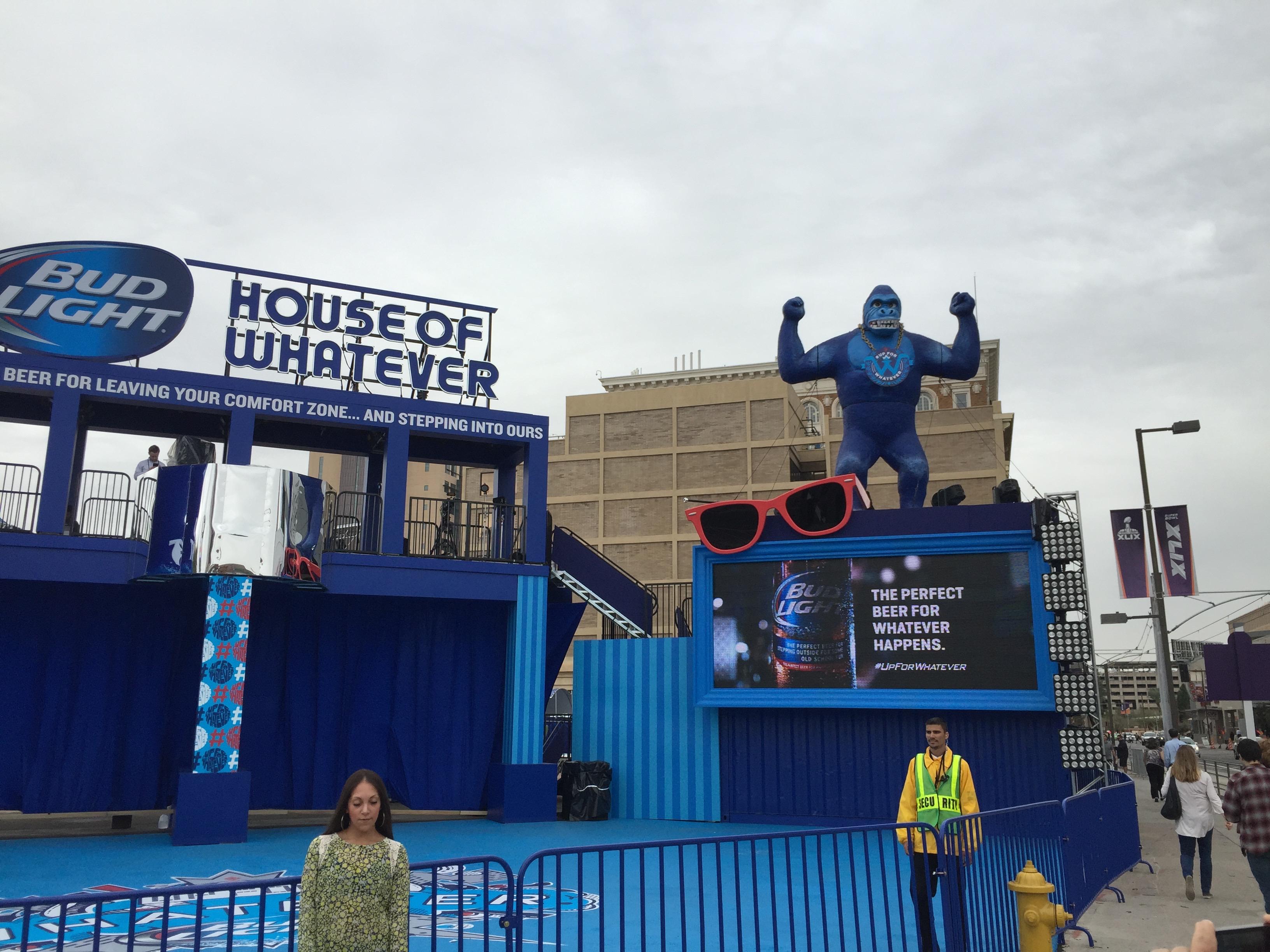 Super Bowl XLIX – Bud Light House of Whatever